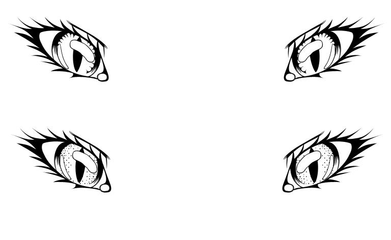tatoo designs cat eyes by prettyprincesslady54 on deviantart. Black Bedroom Furniture Sets. Home Design Ideas