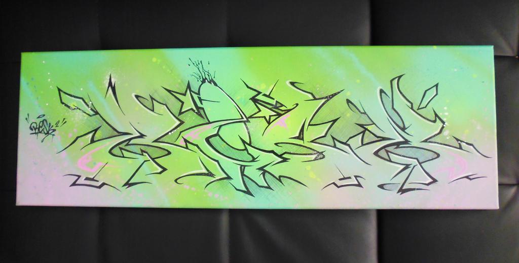 canvas 25x75 by unamedplayer
