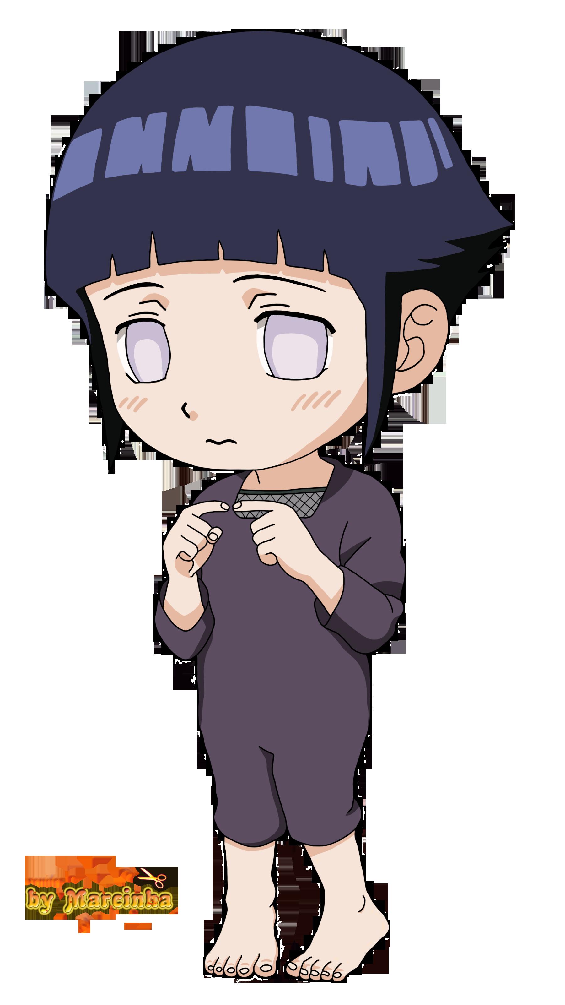 Render Hinata Hyuga Childhood by Marcinha20 on DeviantArt Gaara And Naruto Chibi