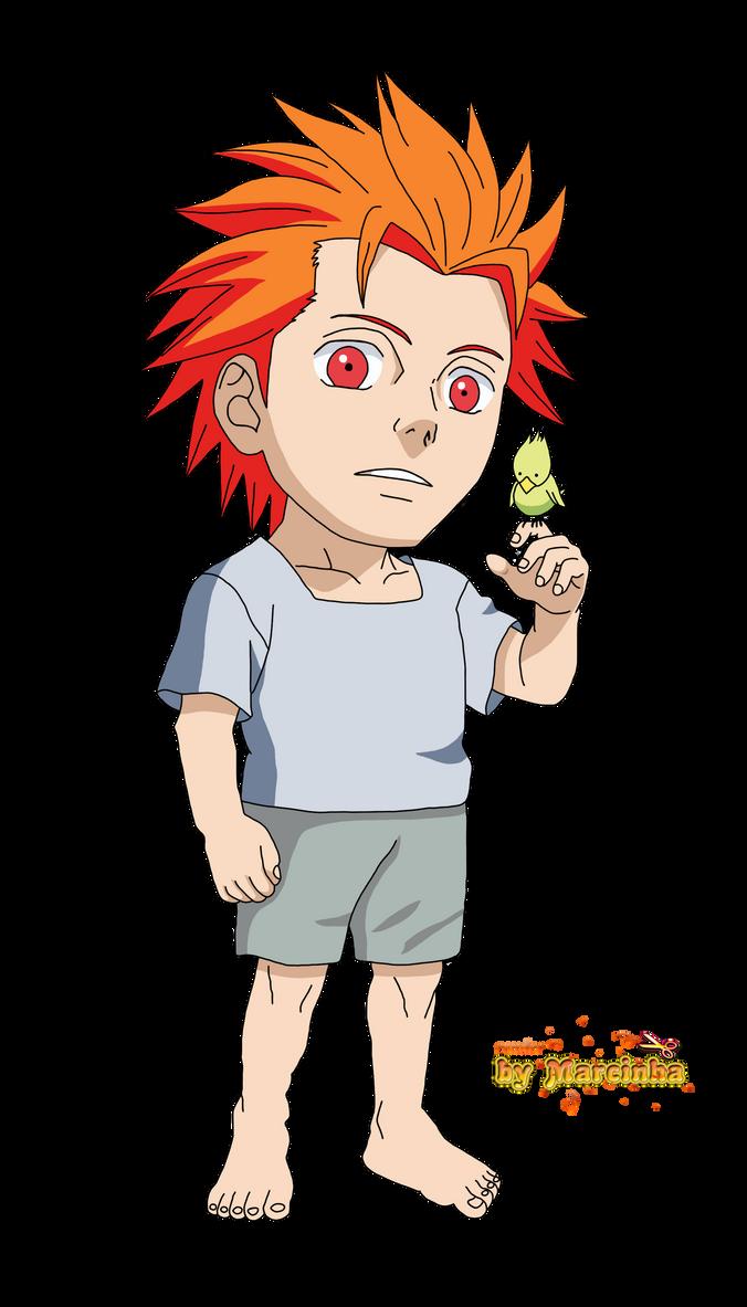 Render Chibi Jugo by Marcinha20 on DeviantArt Gaara And Naruto Kids