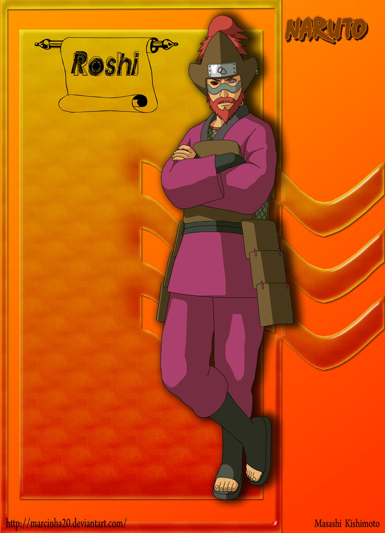 Roshi 4 Tails by Marcinha20 on DeviantArt