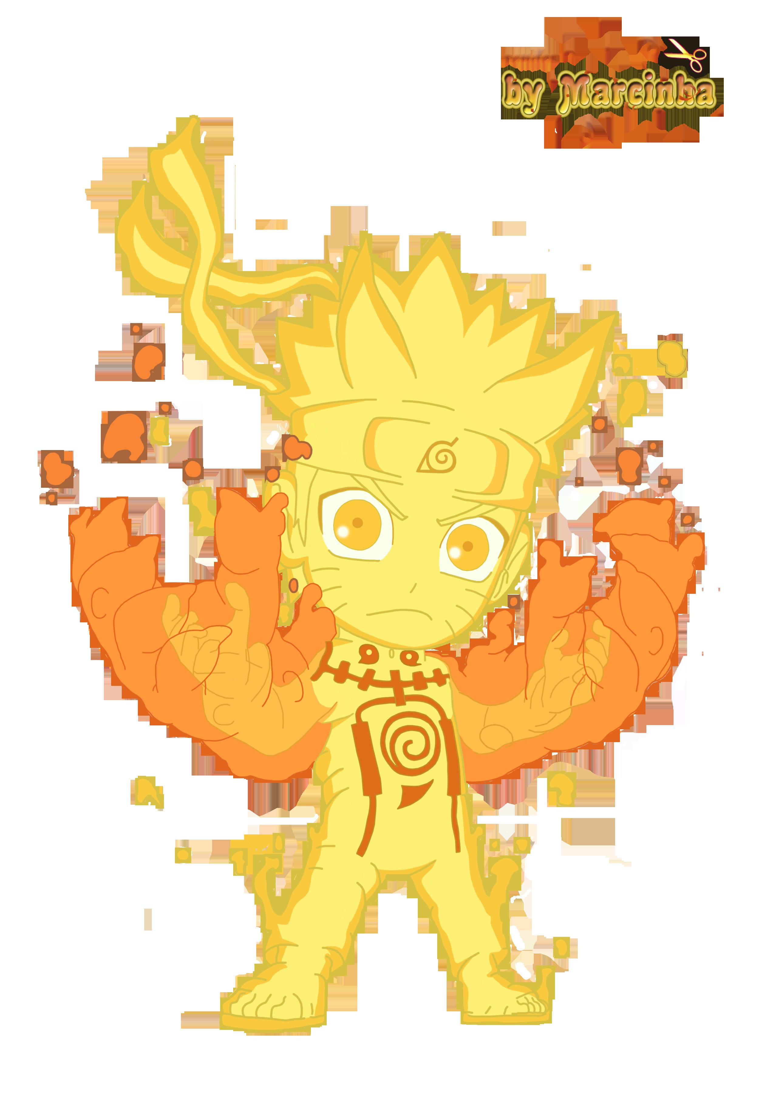 PNG Chibi Naruto Rikudou By Marcinha20