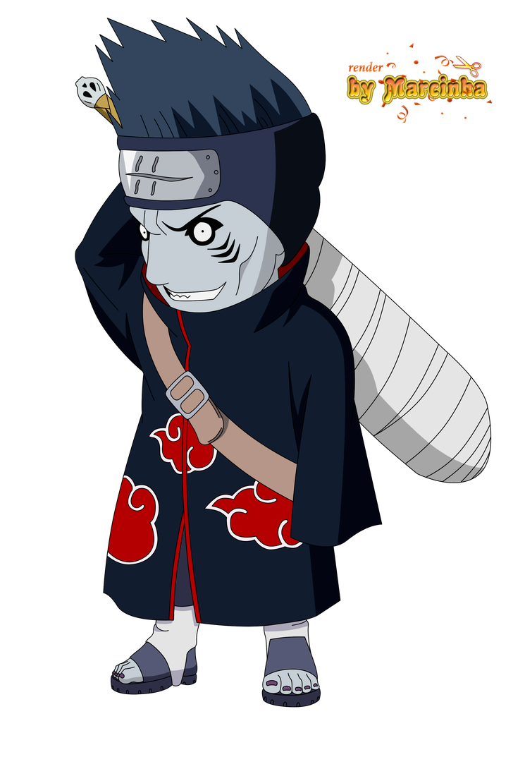 Render Chibi Kisame by Marcinha20 on DeviantArt