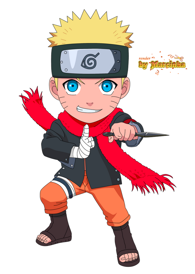 Chibi Naruto The Last By Marcinha20 On Deviantart