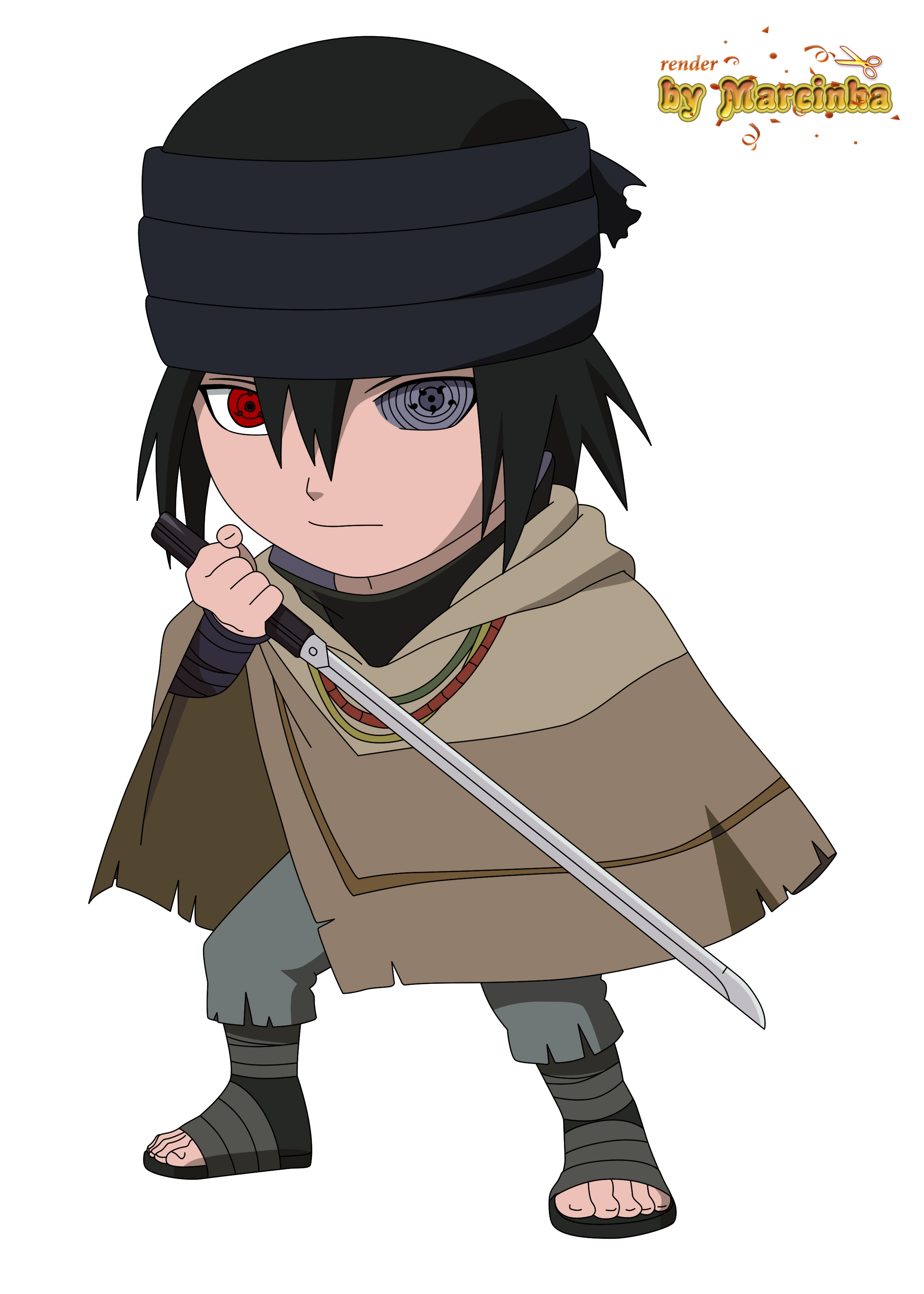 Chibi Sasuke The Last by Marcinha20 on DeviantArt