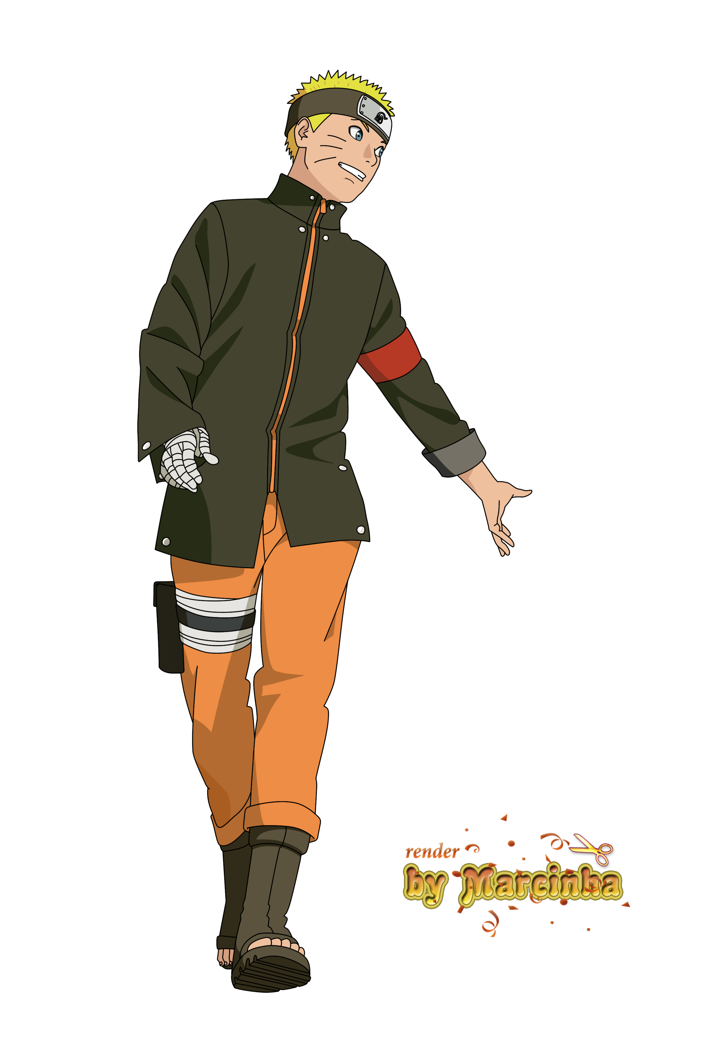 Character Design Naruto The Last : Naruto the last by marcinha on deviantart