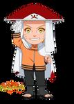 Chibii Naruto Hokage Sennin - The last