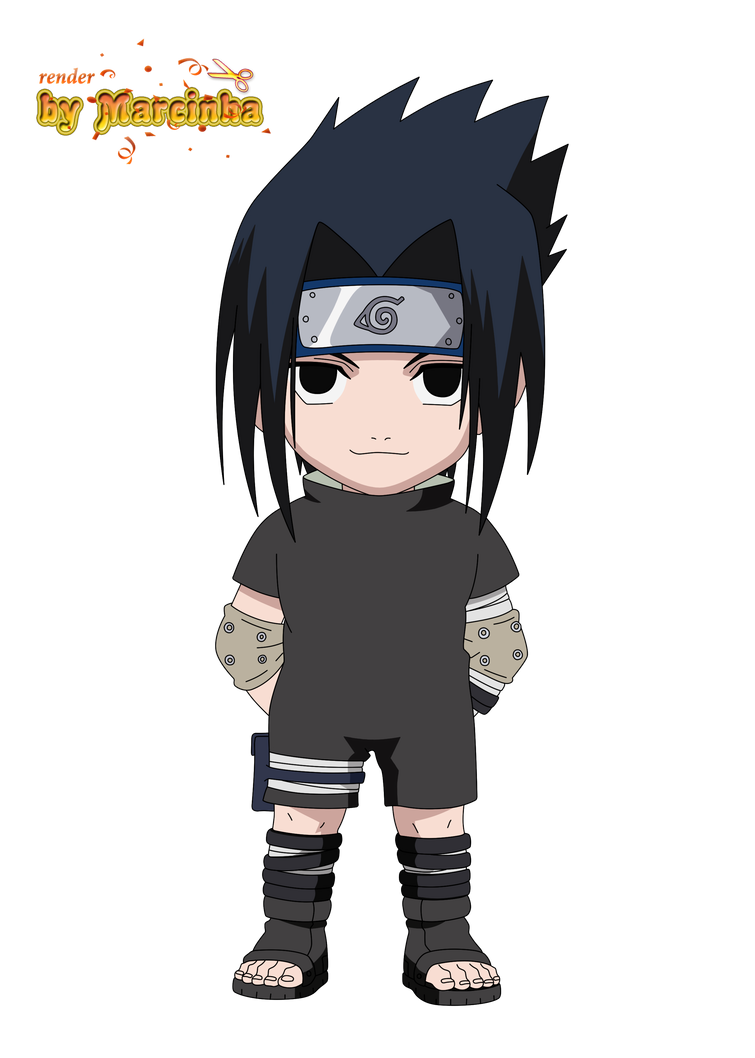 chibi sasuke by marcinha20 on deviantart