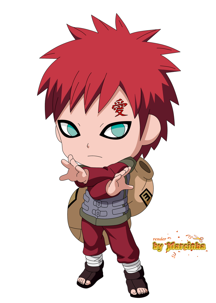 Chibi Gaara The Last by Marcinha20 on DeviantArt Gaara And Naruto Chibi