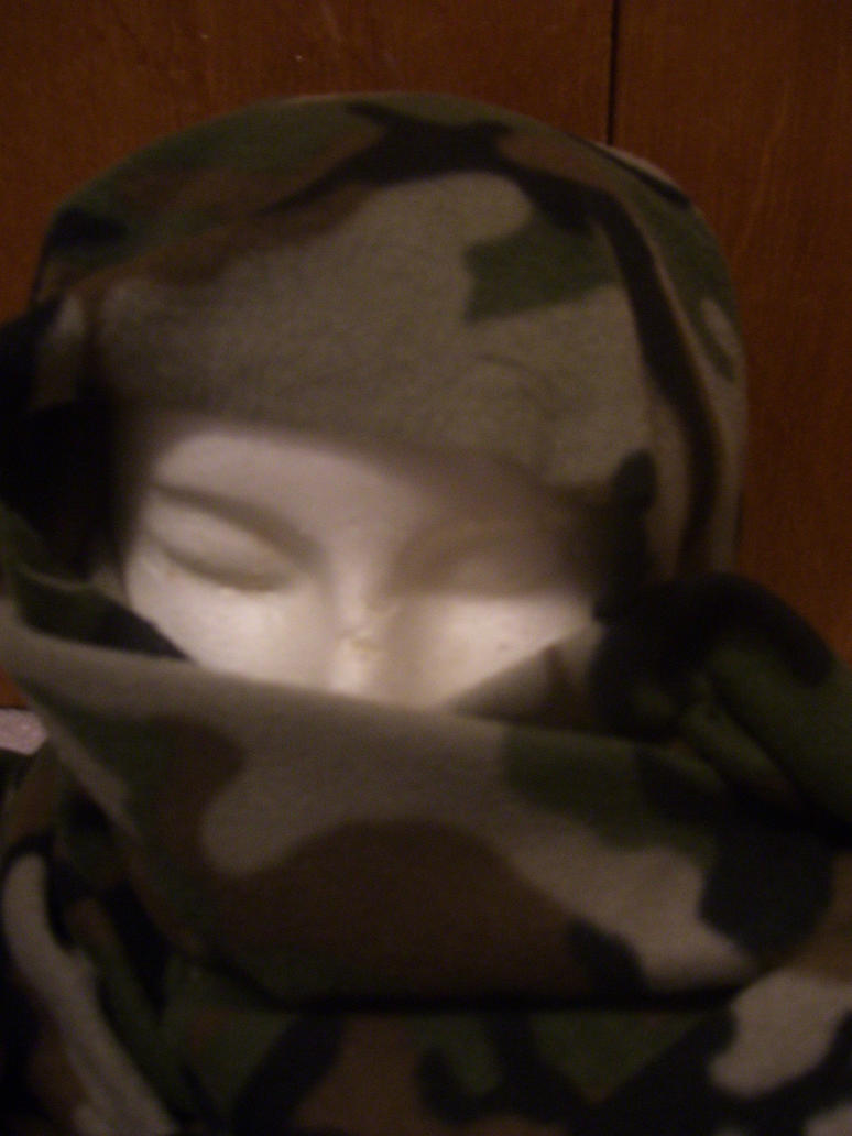 Camo Helmet by Hannah2070