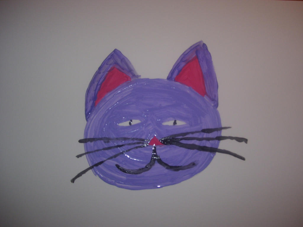 Stream Drawing of a Cat by Hannah2070