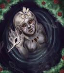 Irisidian Mermaid by MMWoodcock