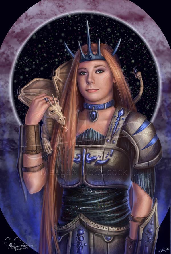Dragon Warrior- Erica by SKTAF