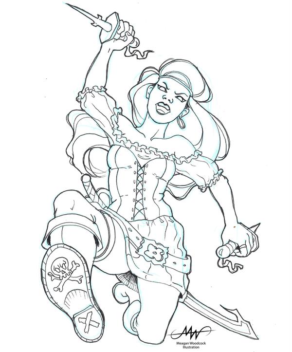 Pirate Doodle 2 by SKTAF