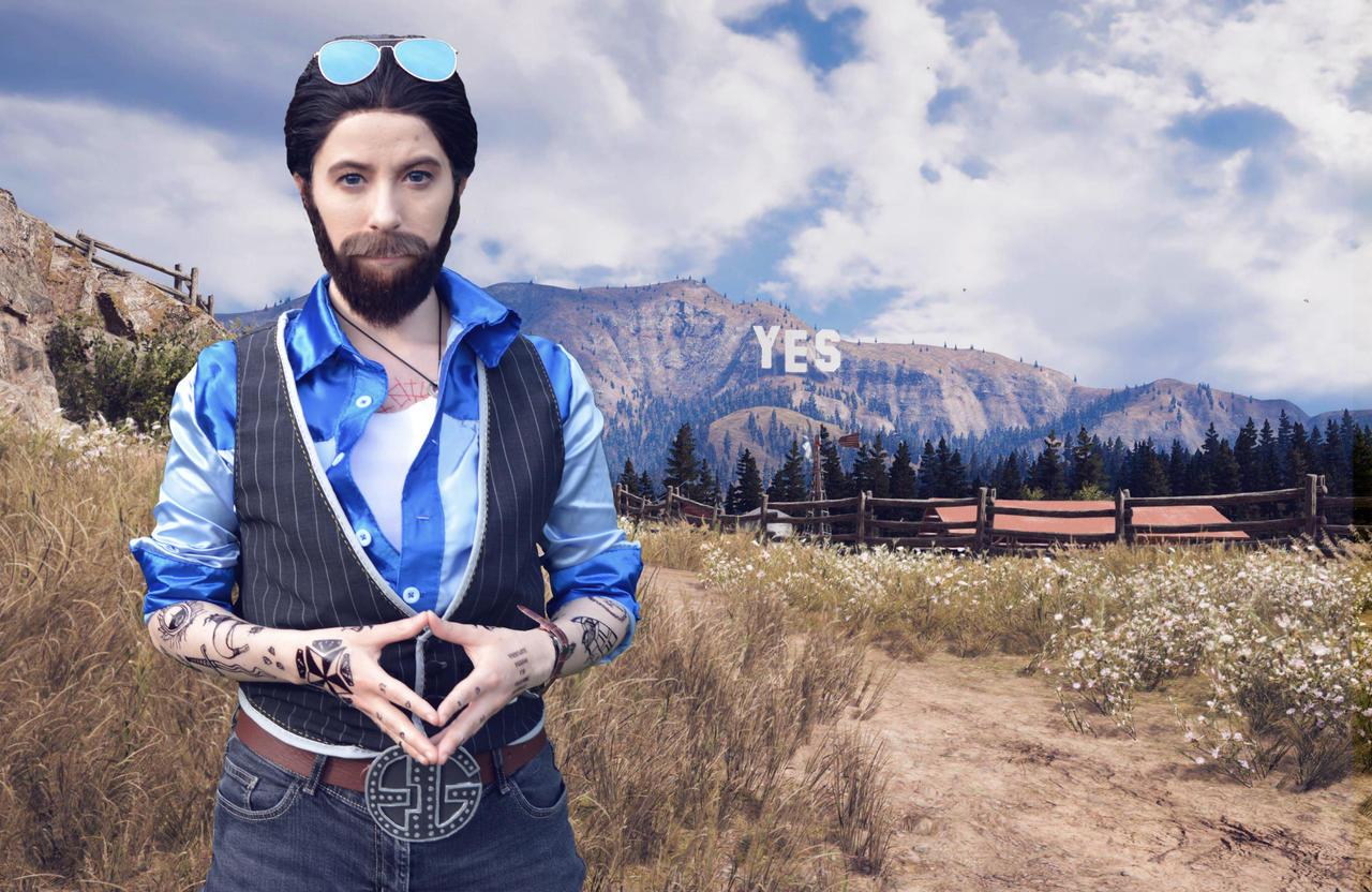 John Seed Far Cry 5 Cosplay By Tybss On Deviantart