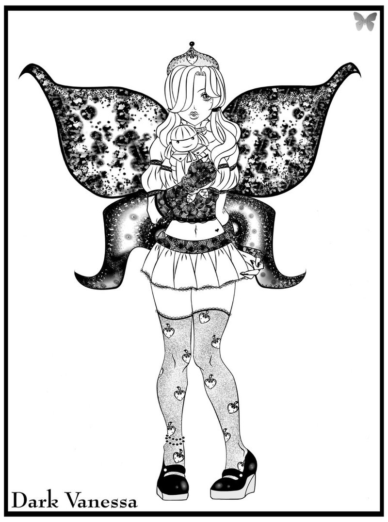 Fairy Lolita-Old commission by DarkVanessaLusT