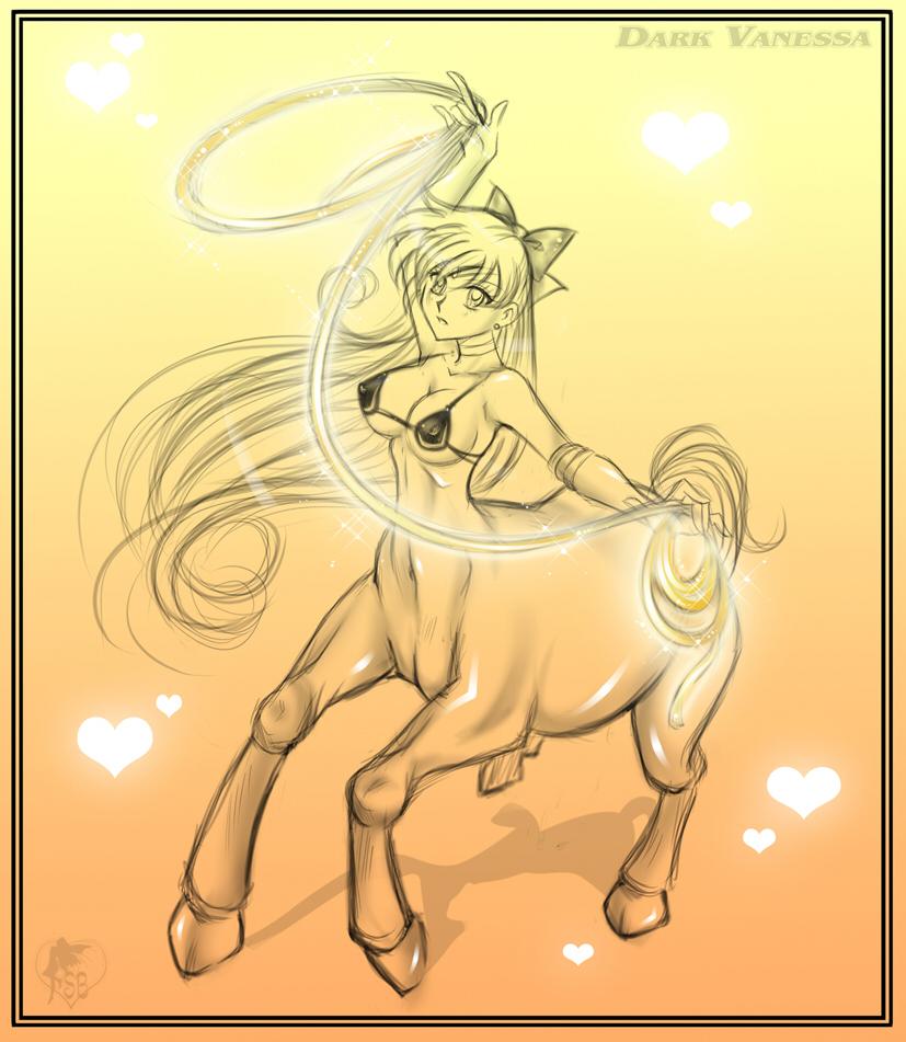 Sailor Venus Centaur - Commish by DarkVanessaLusT