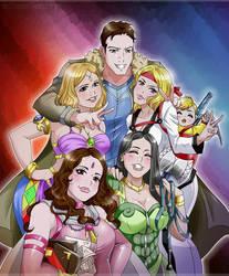 Fantasy Team - Commission by Dark-Vanessa