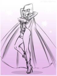 Sexy Raven - Commission by Dark-Vanessa
