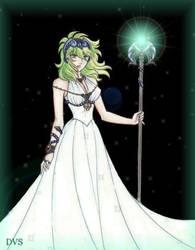 Ophiuchus Shaina-Saint Seiya by Dark-Vanessa