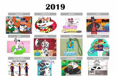 A Year Of Art 2019