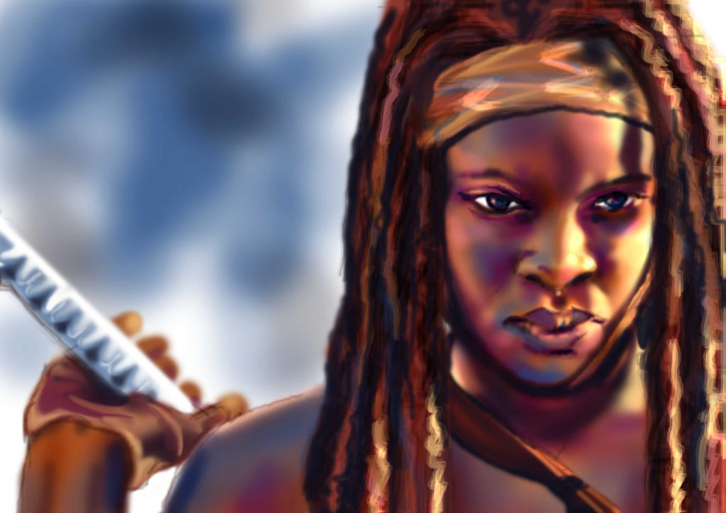 Michonne by Frog27