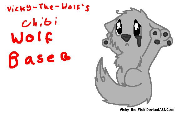 Chibi Wolf Base Chibi Wolf Base 2 by