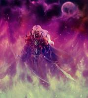 Drax Umbra Character Illustration by Dark-Fenrir