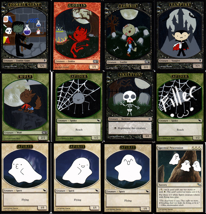 This is a graphic of Epic Printable Mtg Tokens
