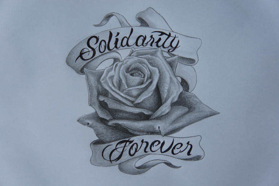 Rose With Banner Tattoos: Rose Tattoo Design By Callum-ogborn On DeviantArt