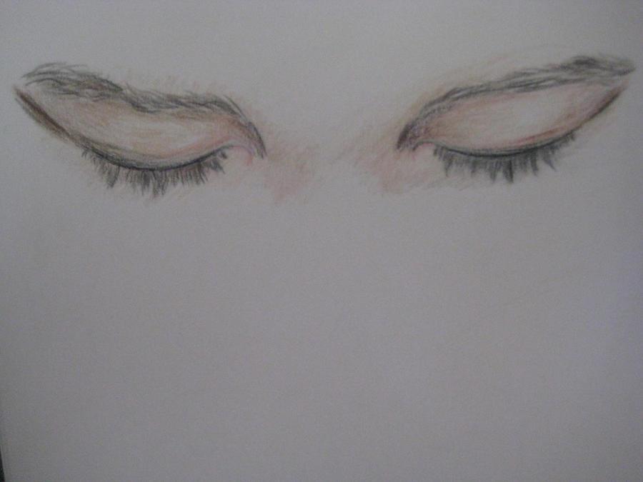 Eyes sketch by phosphorene