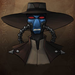 Cad Bane WIP 90% Complete
