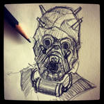 Tusken Raider - Daily Sketch