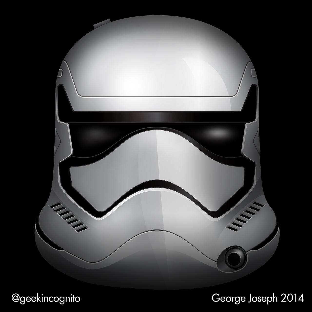 Clone Trooper Helmet Vector THIS is how they should look