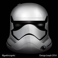 Episode 7 Stormtrooper - Vector by Geekincognito