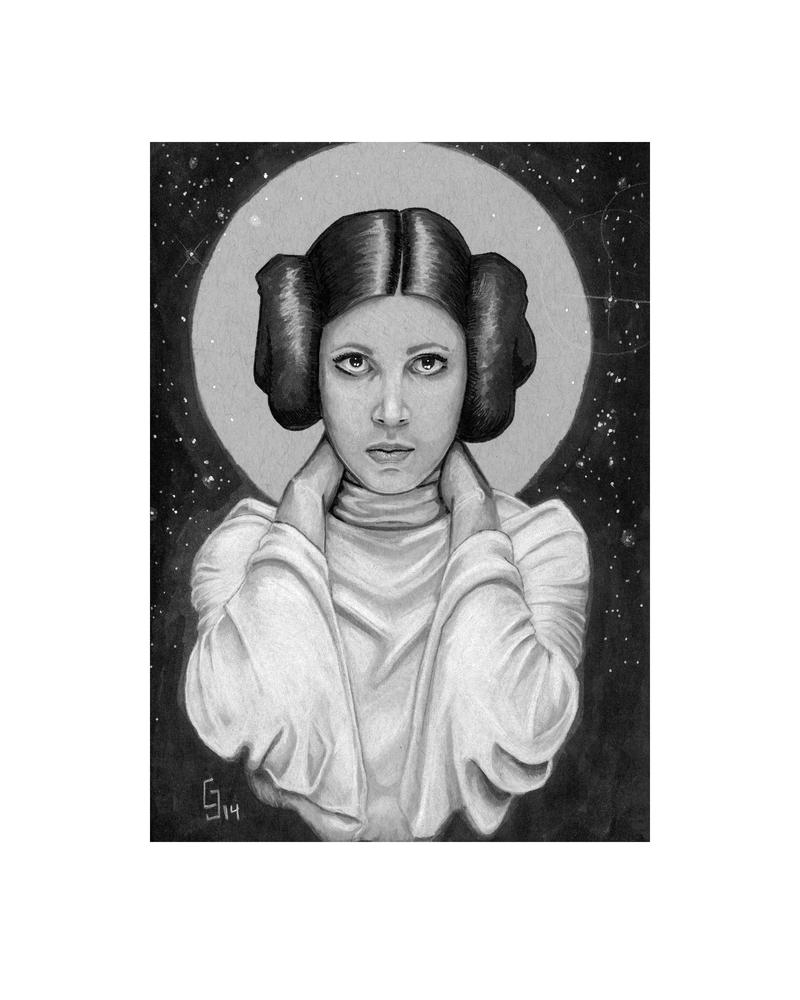 Princess Leia - Daily Sketch