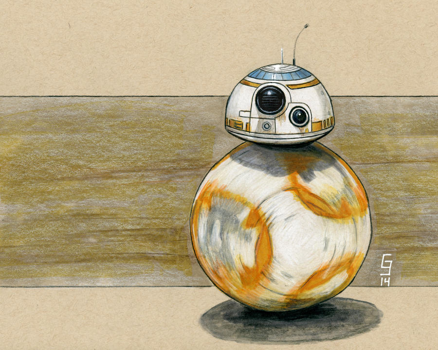 The Force Awakens - BB-8 Sketch