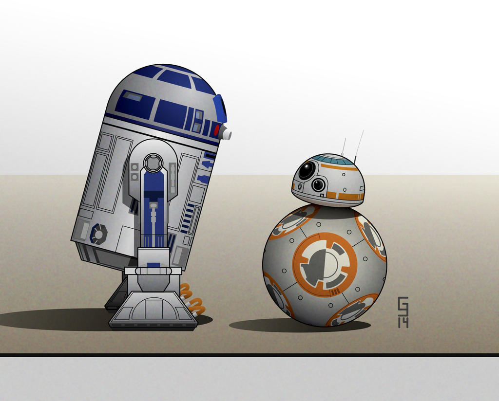 R2's New Friend by Geekincognito