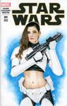 Star Wars #1 Sketch Cover LeeAnna Vamp Femtrooper