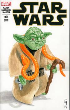 Yoda Sketch Cover