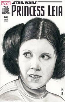Leia Sketch Cover