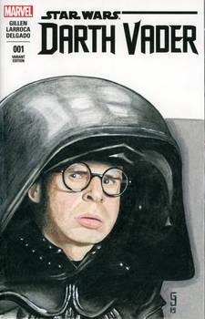 Dark Helmet Sketch Cover