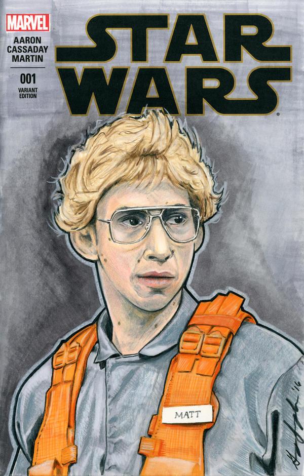 Matt the Radar Technician Sketch Cover by Geekincognito