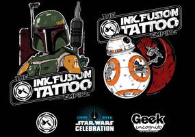 Star Wars Celebration Europe Shirt Art