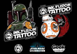 Star Wars Celebration Europe Shirt Art