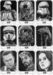Topps Star Wars Rogue One Series 2 Sketch Cards