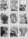 Topps Star Wars 40th Anniversary Sketch Cards