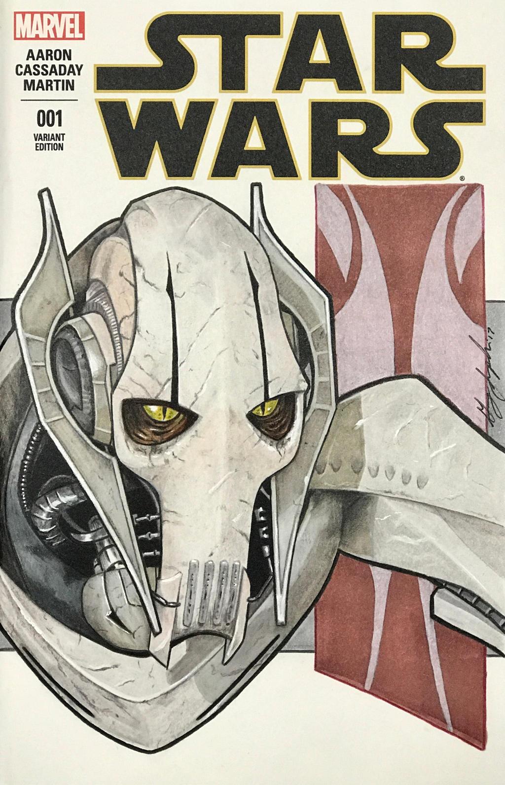 General Grievous Sketch Cover