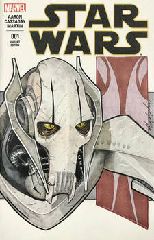 General Grievous Sketch Cover