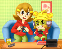 [AT] .:Family Gaming:. by Ivi-Tihista